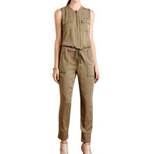 Anthropologie Sleeveless Utility Jumpsuit Size XS